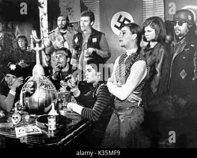 Devil's Angels, aka: Rebellen in Lederjacken, USA 1967, Regie: Daniel Haller, Szenenfoto - Stock Photo