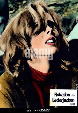 Devil's Angels, aka: Rebellen in Lederjacken, USA 1967, Regie: Daniel Haller, Darsteller: Marianne Kanter (?) - Stock Photo