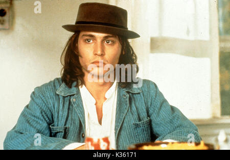 BENNY AND JOON JOHNNY DEPP PICTURE FROM THE RONALD GRANT ARCHIVE FILM RELEASE BY METRO-GOLDWYN-MAYER BENNY AND JOON - Stock Photo