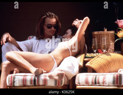 BLOW JOHNNY DEPP, PENELOPE CRUZ     Date: 2001 - Stock Photo