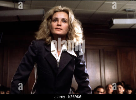 FRANCES JESSICA LANGE     Date: 1982 - Stock Photo