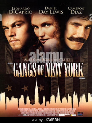 THE GANGS OF NEW YORK      Date: 2002 - Stock Photo
