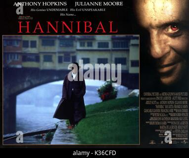 HANNIBAL ANTHONY HOPKINS as Hannibal Lecter HANNIBAL     Date: 2001 - Stock Photo