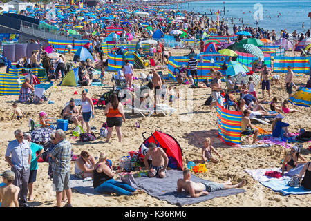 Bournemouth, UK. 2nd Sep, 2017. The third day of the tenth anniversary of the Bournemouth Air Festival with over - Stock Photo
