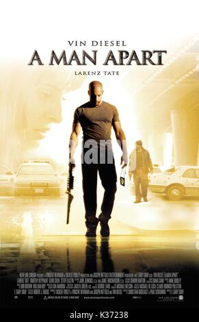 A MAN APART VIN DIESEL A NEW LINE CINEMA FILM     Date: 2003 - Stock Photo