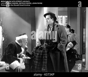 natalie wood amp edmund gwenn miracle on 34th street 1947