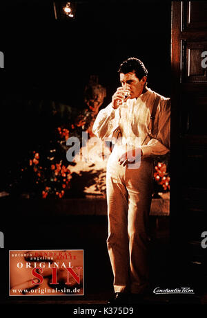 ORIGINAL SIN ANTONIO BANDERAS AN MGM FILM 0034464.JPG ORIGINAL SIN     Date: 2001 - Stock Photo