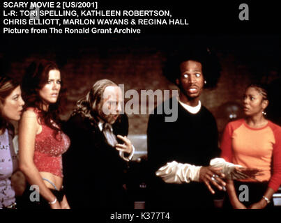 scary movie 2 2001 tori spelling scm2 001 1 stock photo