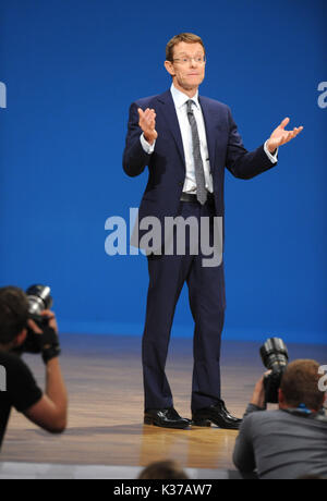 Photo Must Be Credited ©Alpha Press 079965 02/10/2016 Andy Street Conservative Party Conference 2016 At The Birmingham - Stock Photo