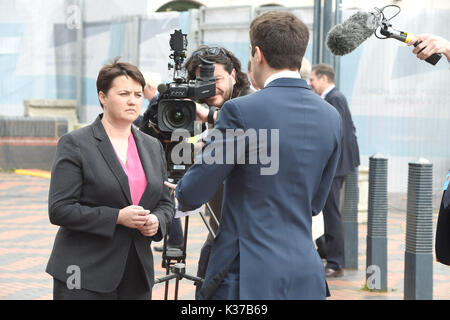 Photo Must Be Credited ©Alpha Press 079965 04/10/2016 Ruth Davidson Conservative Party Conference 2016 At The Birmingham - Stock Photo
