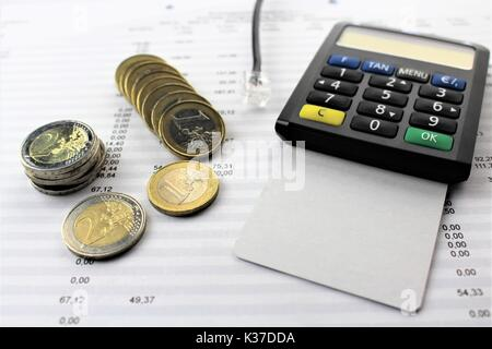 An image of electronic payment - Stock Photo