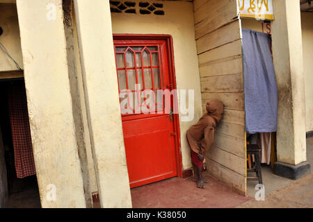 Rwanda, Gisakura Village - Stock Photo