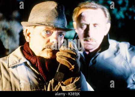 TOUCH OF FROST YORKSHIRE TELEVISION DAVID JASON, left - Stock Photo