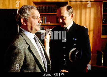 TOUCH OF FROST YORKSHIRE TELEVISION DAVID JASON, BRUCE ALEXANDER - Stock Photo