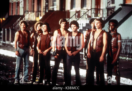 THE WARRIORS [?], [?], [?], JAMES REMAR, [?], BRIAN TYLER, MICHAEL BECK, DAVID HARRIS - Stock Photo