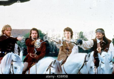 Oliver Platt Musketeers Charlie Sheen, Chris O...