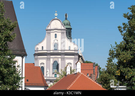An image of the basilica of Altoetting in Bavaria Germany - Stock Photo