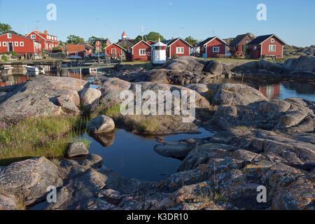 Land place, Stockholm Archipelago, Södermanland, Sweden, - Stock Photo