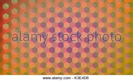 Abstract cubes retro styled colorful background stock vector - Stock Photo