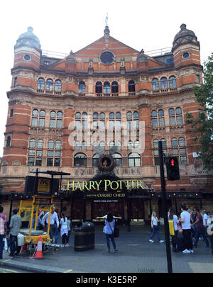 Photo Must Be Credited ©Alpha Press 066465 29/08/2016 Harry Potter and the Cursed Child parts one and two at the - Stock Photo