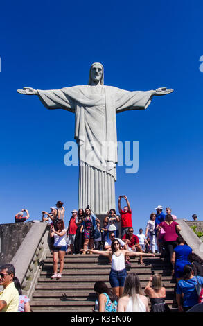 Christ Redeemer - Rio de Janeiro - Stock Photo
