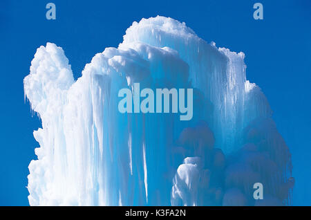 Icicles, ice things - Stock Photo