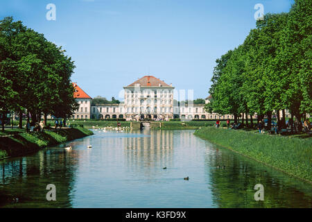 castle Nymphenburg, Munich - Stock Photo