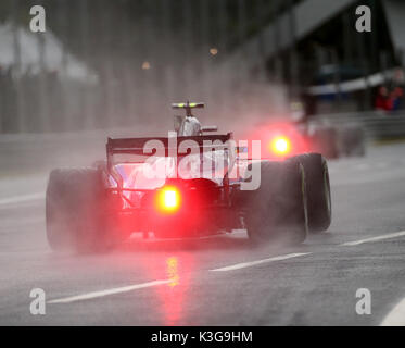 Monza, Italy. 2nd September, 2017.  ,im Bild Carlos Sainz Jr. (SPA#55), Scuderia Toro Rosso    Credit: Cronos/Alamy - Stock Photo