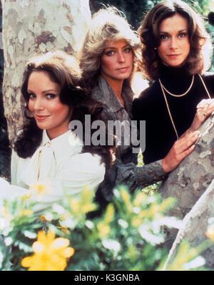 CHARLIE'S ANGELS [US 1976 - 1981]  JACLYN SMITH, FARRAH FAWCETT, KATE JACKSON - Stock Photo