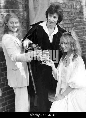 THE PASSION OF DRACULA [1978- 1979]  THE QUEEN'S THEATRE  SHAFTESBURY AVENUE, LONDON  GERALDINE JAMES as Dr. Helga - Stock Photo