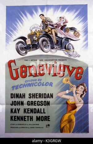 GENEVIEVE      Date: 1953 - Stock Photo