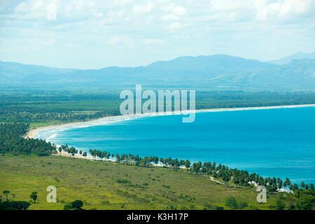 The Dominican Republic, peninsula Samana, Las Terrenas, bay at the international airport of Samana on the north - Stock Photo