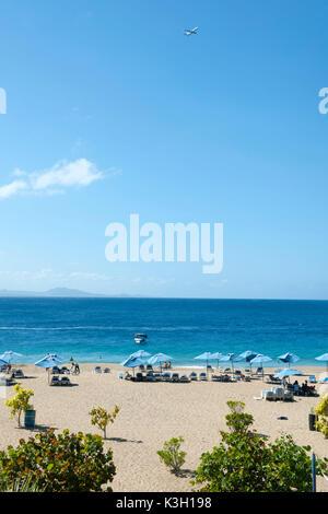 The Dominican Republic, north coast, Sosua, beach below the Parque Mirador