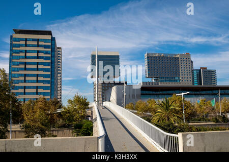 Diagonal Mar district, Barcelona, Catalonia, Spain - Stock Photo
