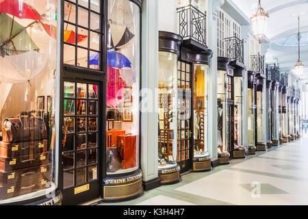 England, London, Piccadilly, Piccadilly Arcade - Stock Photo