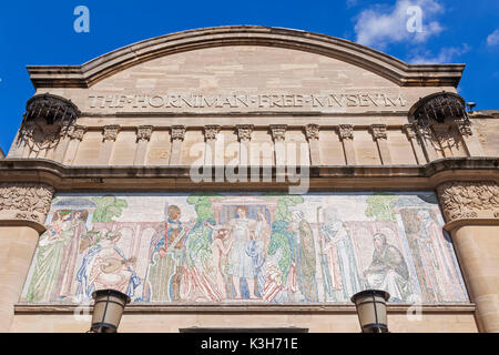 England, London, Forest Hill, Horniman Museum - Stock Photo