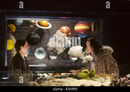 THE HITCHHIKER'S GUIDE TO THE GALAXY [US / BR 2005]  MARTIN FREEMAN, BILL NIGHY     Date: 2005 - Stock Photo