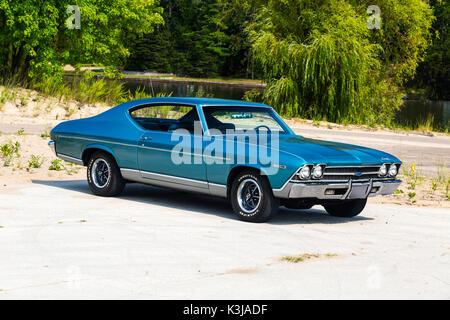 1969 Chevrolet Chevelle - Stock Photo