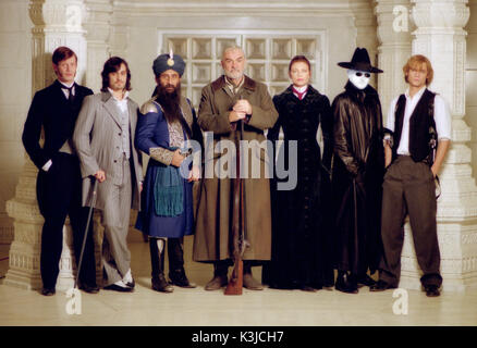 THE LEAGUE OF EXTRAORDINARY GENTLEMEN JASON FLEMYNG STUART TOWNSEND (Dorian Gray), NASEERUDDIN SHAH (Captain Nemo), - Stock Photo