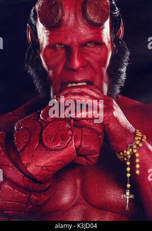 HELLBOY II : THE GOLDEN ARMY RON PERLMAN     Date: 2008 - Stock Photo