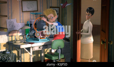 MEET THE ROBINSONS Character Lewis, ANGELA BASSETT voices Mildred MEET THE ROBINSONS     Date: 2007 - Stock Photo