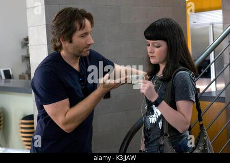 CALIFORNICATION [US TV SERIES 2007 - ] Series#1/Episode#2/ 'Hell-A Woman'   DAVID DUCHOVNY, MADELEINE MARTIN  CALIFORNICATION - Stock Photo