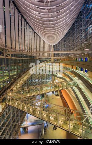 Japan, Tokyo City, Ginza Area, Yurakucho, Tokyo Forum Bldg. - Stock Photo