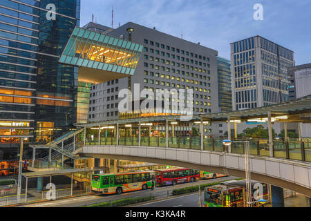 Japan, Tokyo City, Shinagawa Station , East exit. - Stock Photo
