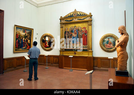 Hungary, Budapest, listed as World Heritage by UNESCO, Fine Arts Museum, Hösök tere - Stock Photo