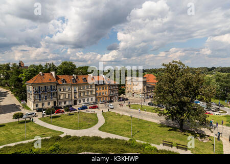 Europa, Poland, Voivodeship Masovian, Warsaw - the capital and largest city of Poland / Old Town - Stock Photo