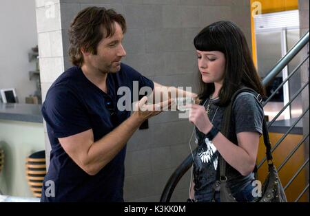 CALIFORNICATION [US TV SERIES 2007 - ]  Series,1/Episode,2/ 'Hell-A Woman'    DAVID DUCHOVNY, MADELEINE MARTIN  - Stock Photo