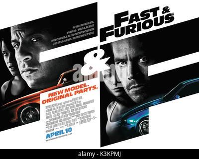 FAST & FURIOUS aka FAST & FURIOUS 4       Date: 2009 - Stock Photo
