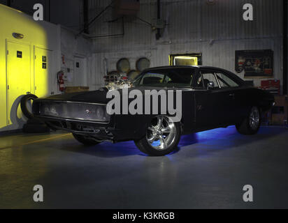 FAST & FURIOUS [US 2009]  aka FAST & FURIOUS 4  Dom Toretto's 1970 Dodge Charger       Date: 2009 - Stock Photo