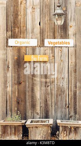 farm stall - Stock Photo